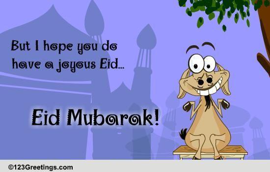 A Joyous Eid... Free Eid Mubarak eCards, Greeting Cards ...