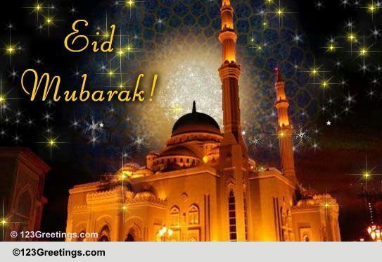 wish eid mubarak on eid uladha free eid mubarak ecards