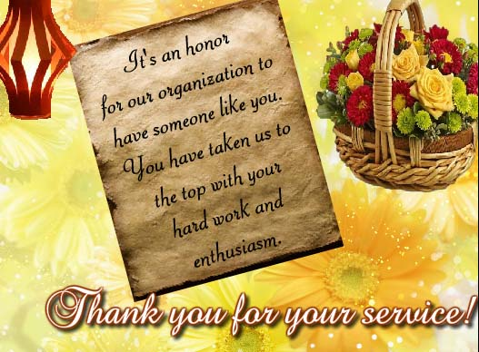 thanks for your hard work    free employee appreciation