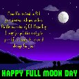 Occasion Of Full Moon Day.