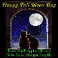 A Cute And Romantic Full Moon Day.