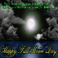 My Romantic Full Moon Day Card.