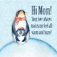 Hi Mom Cute Penguins.