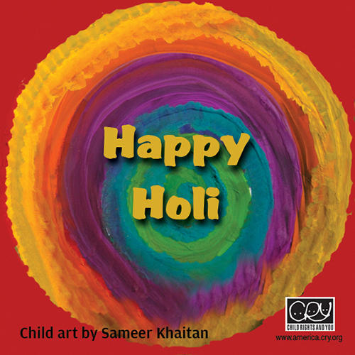 Happy Holi To You.