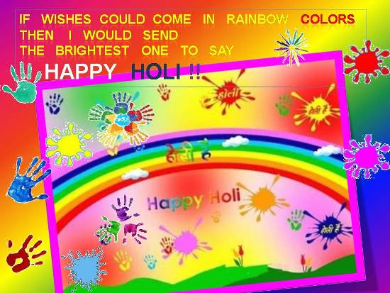 Greetings On Holi.