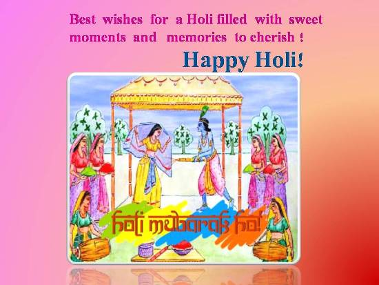 Greetings On A Wonderful Holi.