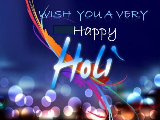 Warm Greetings On Holi.