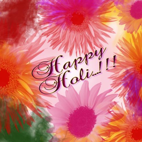 Happy Holi To All...