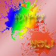 Happy & Colorful Holi.