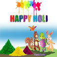Wish You A Colorful Happy Holi!