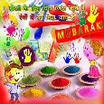 Colorful Fun Filled Wishes For  Holi.