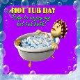 Enjoy My Hot Tub Bath.