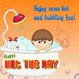 Hot And Bubbling Fun Ecard.