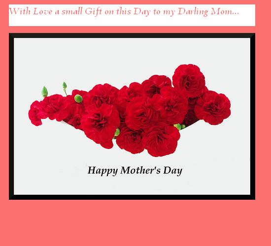 To My Darling Mom.