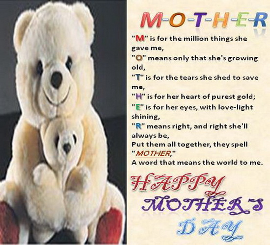 Mother's Day Greetings...
