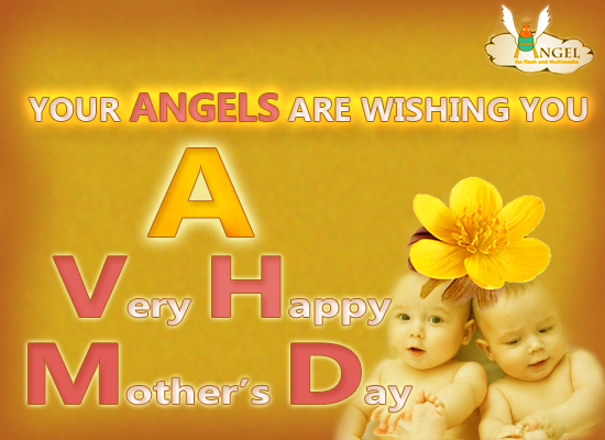 Happy mother s day from your angels free mothering sunday