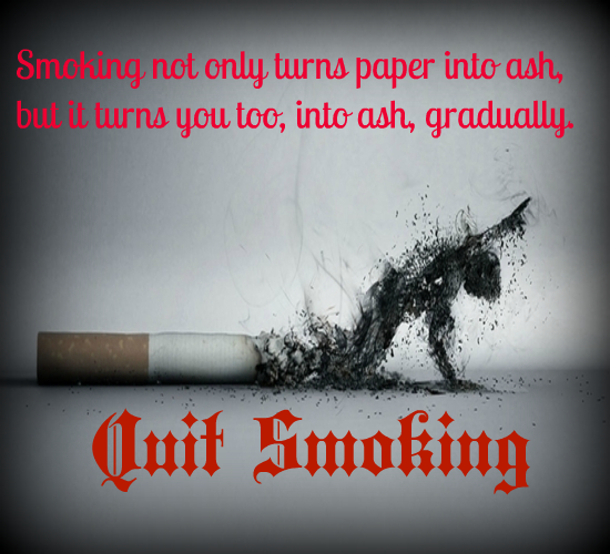 Smoking Is A Curse...