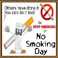 Home : Events : No Smoking Day 2019 [Mar 13] - You Can Do It Too!