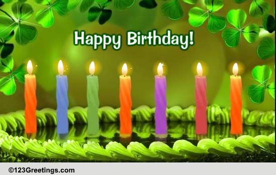 St. Patrick's Day Birthday Wishes! Free Birthday eCards ...