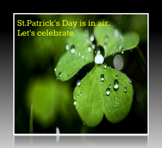 Let's Celebrate St. Patrick's Day!