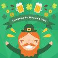 Celebratory St. Patrick's Day Ecard.