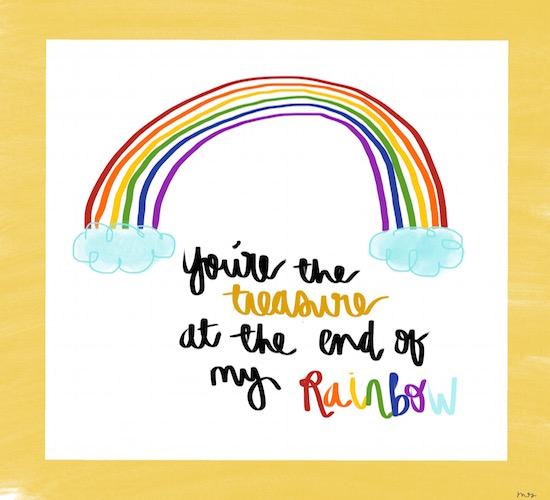 You're The Treasure At...