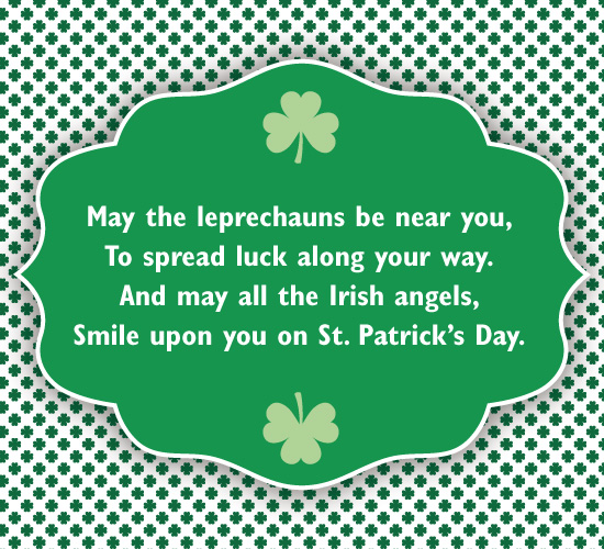 Send a friend this traditional Irish blessing!