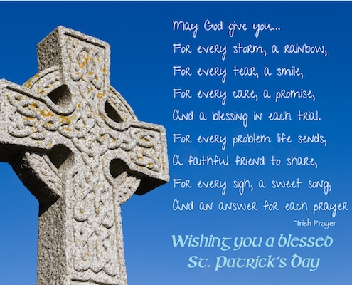 Irish Blessing For You.