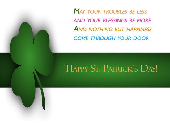 Blessings Of The Irish Free Irish Blessings ECards Greeting Cards