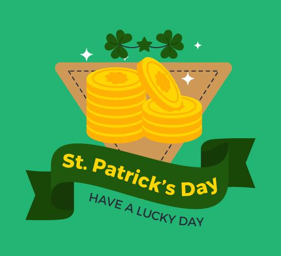 St. Patrick's Irish Coins.