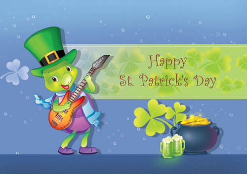 Happy St. Patrick's Day.