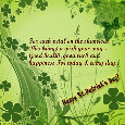 St. Patrick's Day Greetings For You!