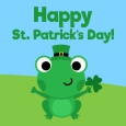 Froggy Happy St. Patrick's Day.