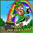 St. Patrick's Day Leprechaun.