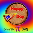 Celebrate Pi Day.