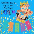 Home : Events : Purim 2019 [Mar 20 - 21] - A Joyous And Fun-filled Purim Ecard.