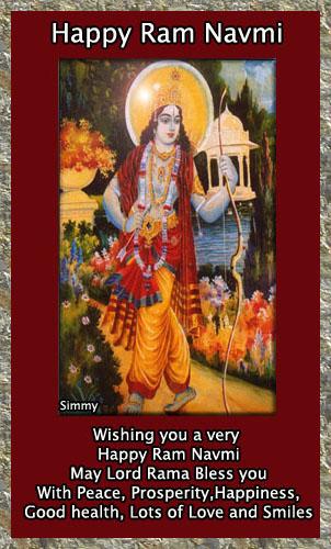 Ram Navami Wishes.