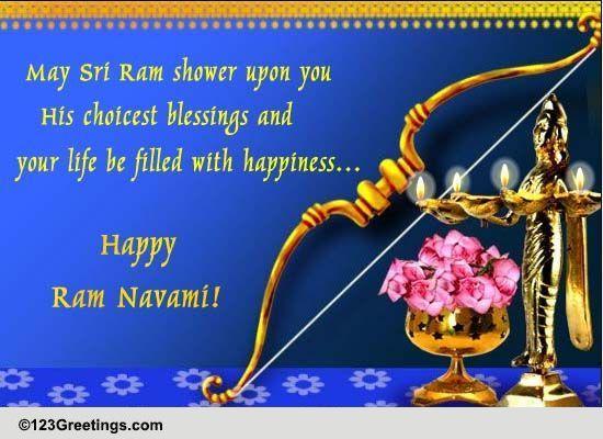 Happy ram navami free ram navami ecards greeting cards 123 greetings m4hsunfo