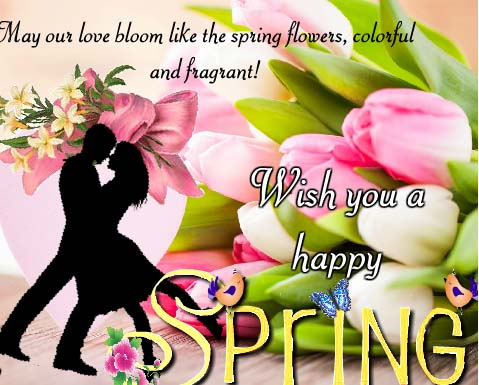 Send Spring Wishes!