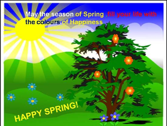 Greetings For A Great Spring.