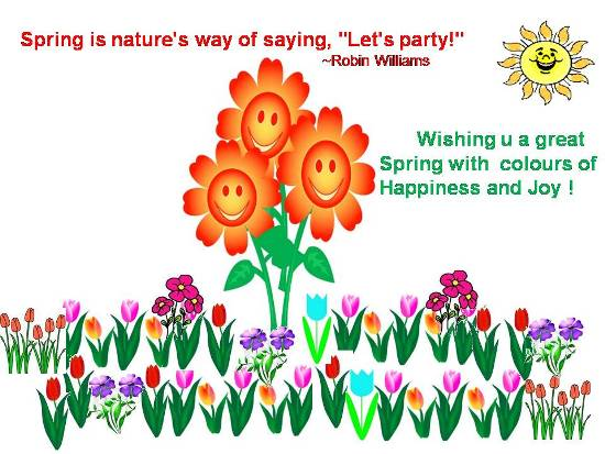 Spring Time Wishes For Loved Ones.