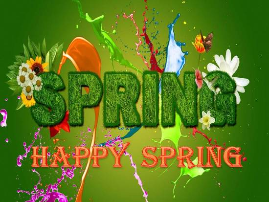 Hurrah For Spring!