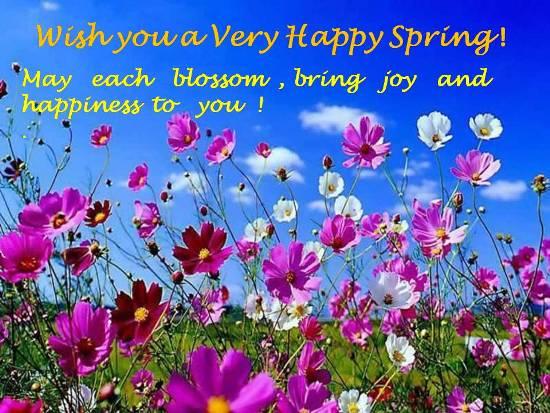 Hurrah Spring!