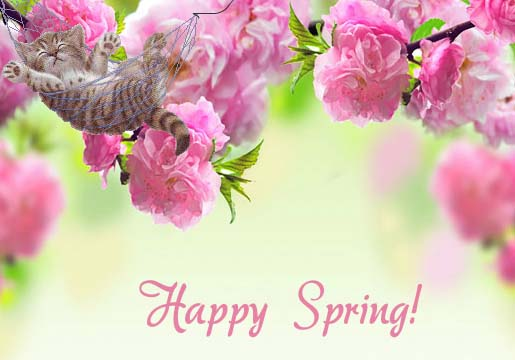 The First Day Of Spring. Free Happy Spring eCards ...
