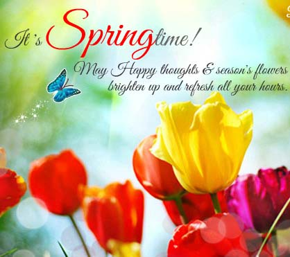 Happy Springtime! Free Happy Spring eCards, Greeting Cards ...
