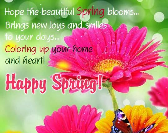 Let Spring Bloom! Free Happy Spring eCards, Greeting Cards ...