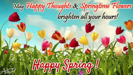 Send Spring Greetings!
