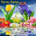 Spring Equinox Card For You.