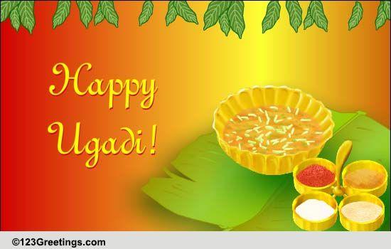 Ugadi Pachadi... Free Ugadi eCards, Greeting Cards   123 Greetings