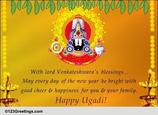 Happy and cheerful ugadi free ugadi ecards greeting cards 123 free ugadi ecards greeting cards 123 greetings m4hsunfo